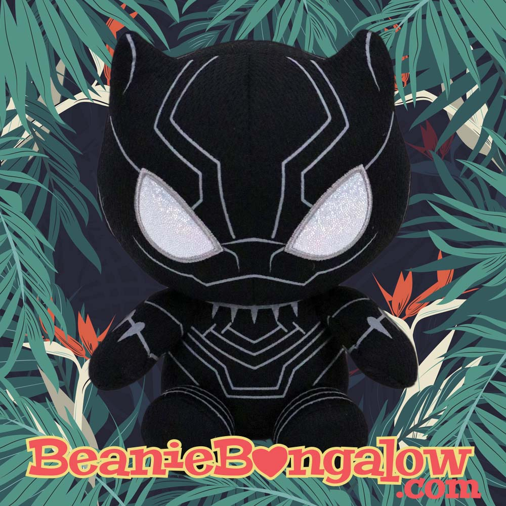 Black Panther Ty Beanie Baby