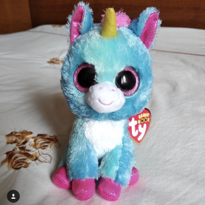 Stitches the unicorn Ty Beanie Boo Michaels Craft Store exclusive