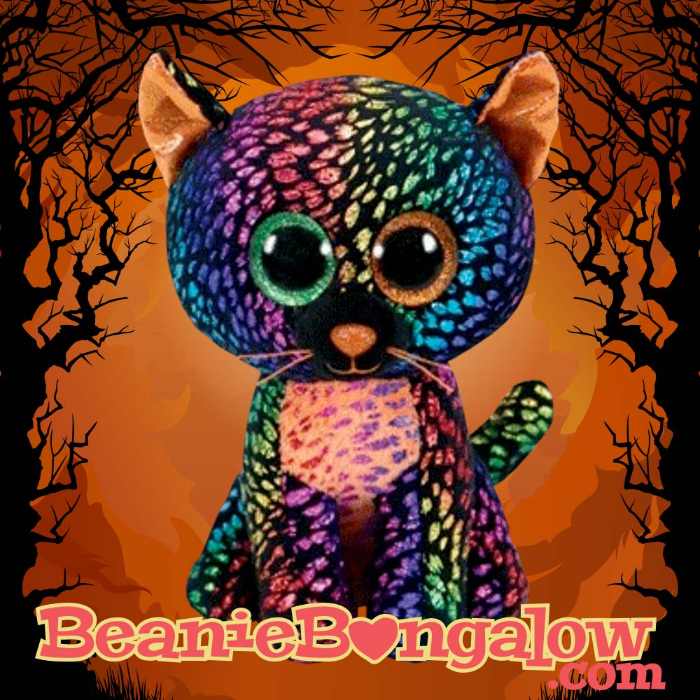 2018 Ty Beanie Boo Halloween Exclusive Cat