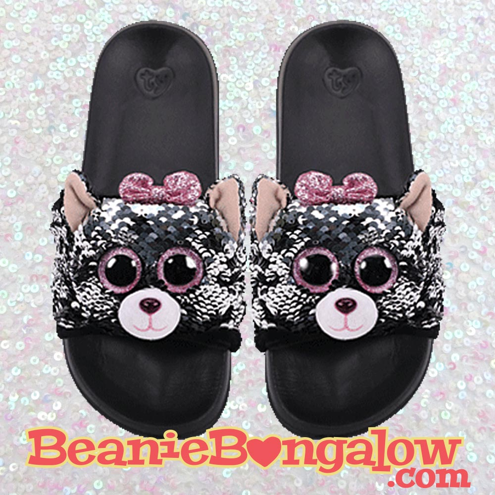 Cat Ty Fashion Pool Slide Flip-Flops