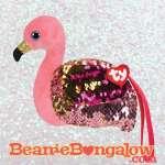Ty Fashion Gilda the flamingo wristlet