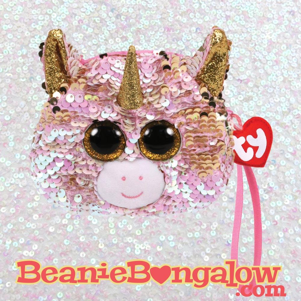 Ty Fashion Fantasia the unicorn wristlet