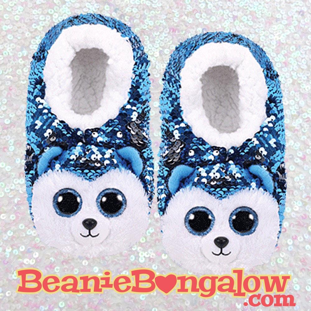 Husky Ty Fashion Slipper Socks