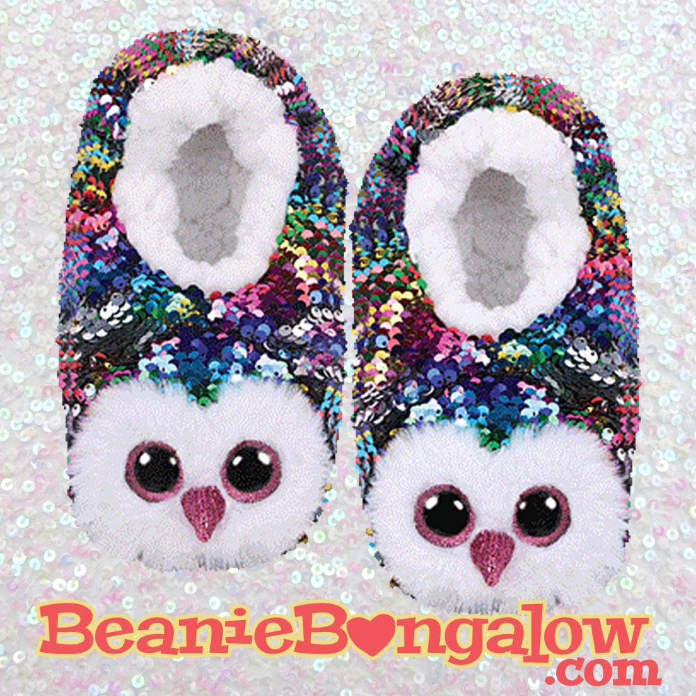 Owl Ty Fashion Slipper Socks